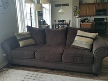 Couch/oversized chair set in Joliet, Illinois