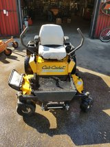 "ZERO TURN Cub Cadet 44"" Z Force. Good Working Conditions in The Woodlands, Texas"