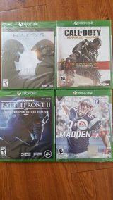 Brand New 4 Xbox  Games in Travis AFB, California