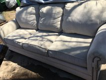 Light beige couch in Fort Riley, Kansas