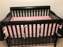 Baby crib and bedding in Las Vegas, Nevada
