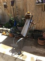 Metal man patio style in Yucca Valley, California