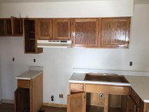 Kitchen Cabinets; Right and Left corners sold separately as sets in Alamogordo, New Mexico