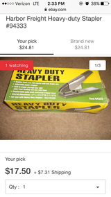 Heavy duty stapler in Perry, Georgia