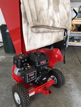 Gas powered shredder for leaves and up to 3 in. branches in Lockport, Illinois
