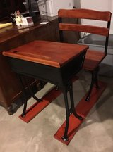 EARLY 1900 CHILD SCHOOL DESK WITH A SEAT in Naperville, Illinois