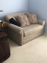 Love seat with hide-a-bed in Naperville, Illinois