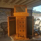 Nice dresser top jewelry armoire in Yucca Valley, California
