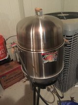Brinkman all in one gas grill fry smoker in Kingwood, Texas