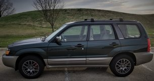 2003 SUBARU FORESTER 2.5 XS AWD. NEWER TIRES & WHEELS/SUSP/STEERING/TRANS/DIFF. SEE DESCRIPTION in Naperville, Illinois