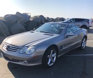 Mercedes Benz  SL 500 in Camp Pendleton, California