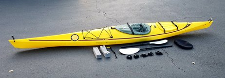 16 ft Aquaterra Chinook Kayak with Accessories in Camp Pendleton, California