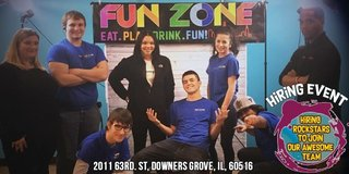 FUNZONE HIRING EVENT in Orland Park, Illinois