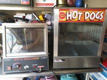 Hot dog steamer in Orland Park, Illinois
