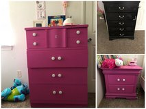 Dressers and night stand in Camp Pendleton, California