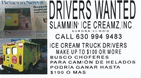 DRIVERS WANTED in Aurora, Illinois
