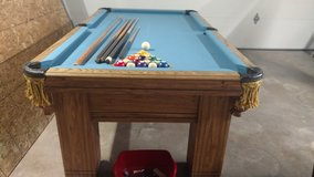 7ft Slate Top Pool Table in Yucca Valley, California