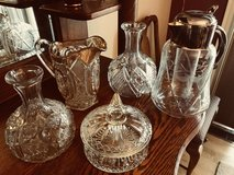 Miscellaneous decanters and candy dish in Algonquin, Illinois
