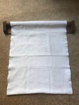 Antique roller towel and holder in Schaumburg, Illinois