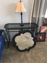 table, lamp and mirror in Camp Pendleton, California