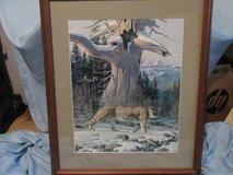 "Jack Dumas ""Cougar Country"" Ltd. Edition, Numbered and Signed in The Woodlands, Texas"