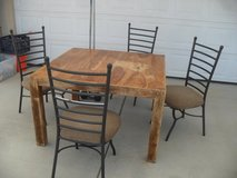 ~~~  Table + 4 Chairs  ~~~ in Yucca Valley, California