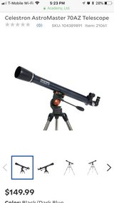Telescope Celestron AstroMaster in Fairfield, California