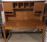 Desk/hutch and chair in Quantico, Virginia