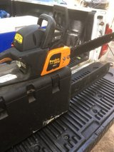 """poulan pro 42cc 18""""bar chainsaw runs excellent just serviced $100 in Perry, Georgia"""