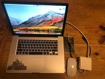 "MacBook Pro 15"" i7, SSD, Retina, +500gb external SSD, +Magic Mouse in Lawton, Oklahoma"