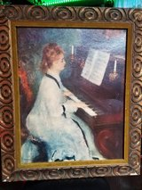 """Painting """"Lady at the piano"""" in Glendale Heights, Illinois"""