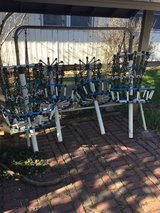 frisbee golf baskets in St. Charles, Illinois