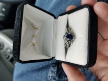 Blue Sapphire Ring in Fort Campbell, Kentucky