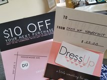 Gift Card to the store Dress Up in Fort Campbell, Kentucky