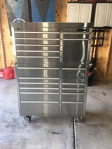 HammerHead 41 inch 19 Drawer Stainless Steel Rolling Tool Chest Combo in Naperville, Illinois