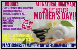 MOTHER'S DAY SPA SETS MADE TO ORDER!! in Fort Campbell, Kentucky