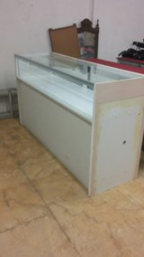 7 display cases, $120 each in St. Charles, Illinois