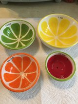 Fruit Measuring Bowls Stackable in Clarksville, Tennessee