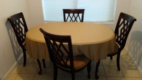Table with 4 chairs in The Woodlands, Texas