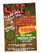Equine Tack Sale in Fort Lewis, Washington