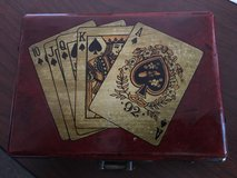 Antique Bee Playing card case in Camp Pendleton, California