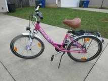 Girl's bicycle in Fort Knox, Kentucky