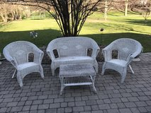Antique Wicker Patio Set in Glendale Heights, Illinois