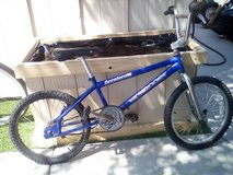 Mongoose bmx bike in Camp Pendleton, California