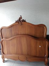 Full size Antique Bed in Ramstein, Germany
