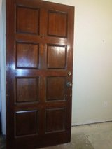 solid wood door in The Woodlands, Texas