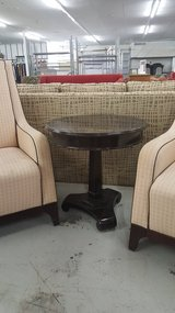 Round end table in Camp Lejeune, North Carolina