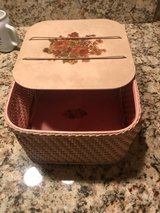 Vintage Princess Algonquin sewing basket in Macon, Georgia
