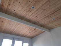 Pine T&G Installed in 29 Palms, California