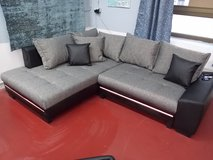 Nikki Sectional with Bed + LED + Sound System in Ramstein, Germany